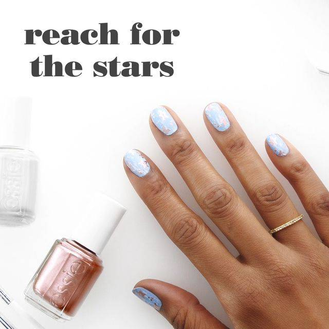 art sur ongles reach for the stars